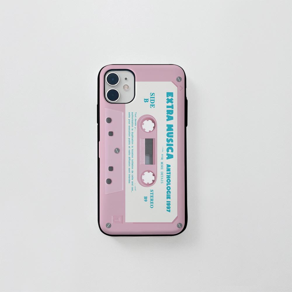 (카드) 핑크 카세트