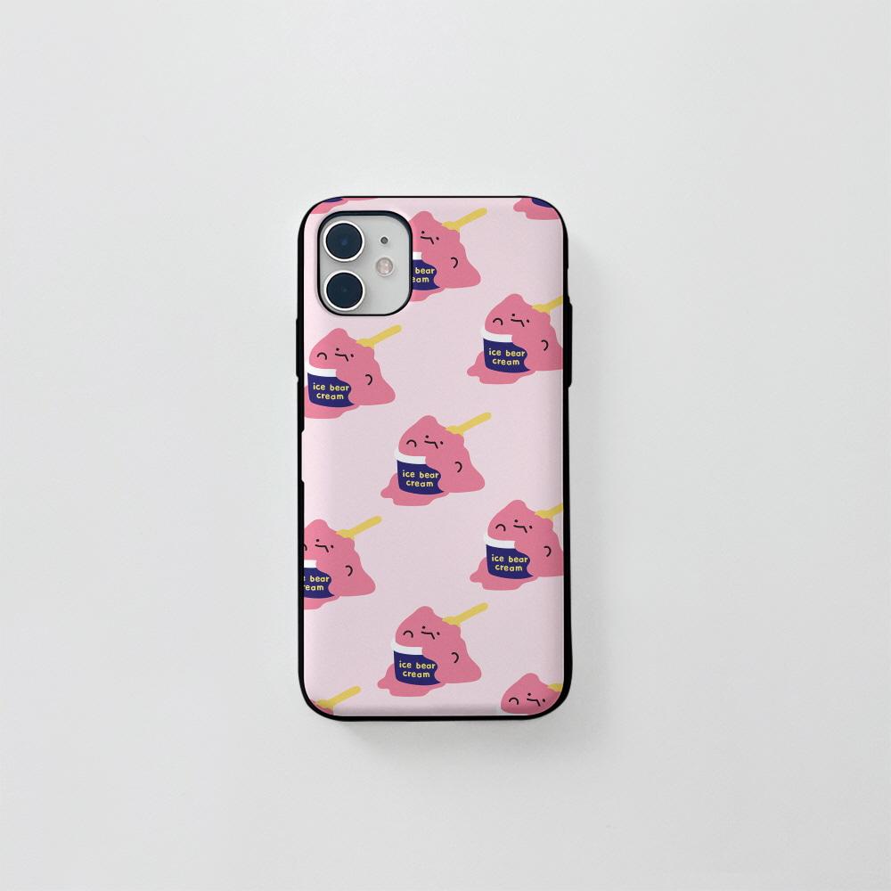 (카드) 아수쿠림 딸기 핑크