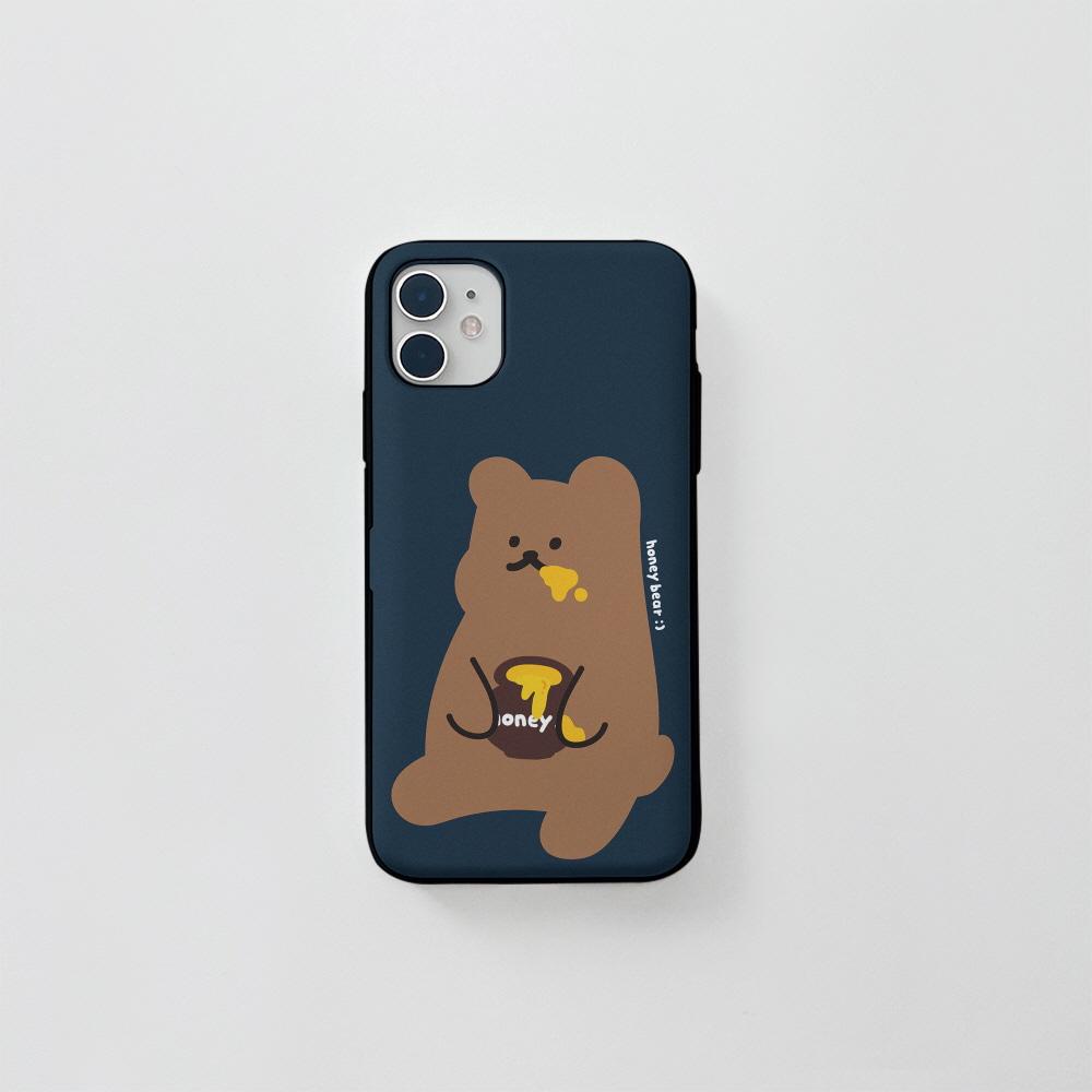 (카드) 꿀먹는곰 네이비