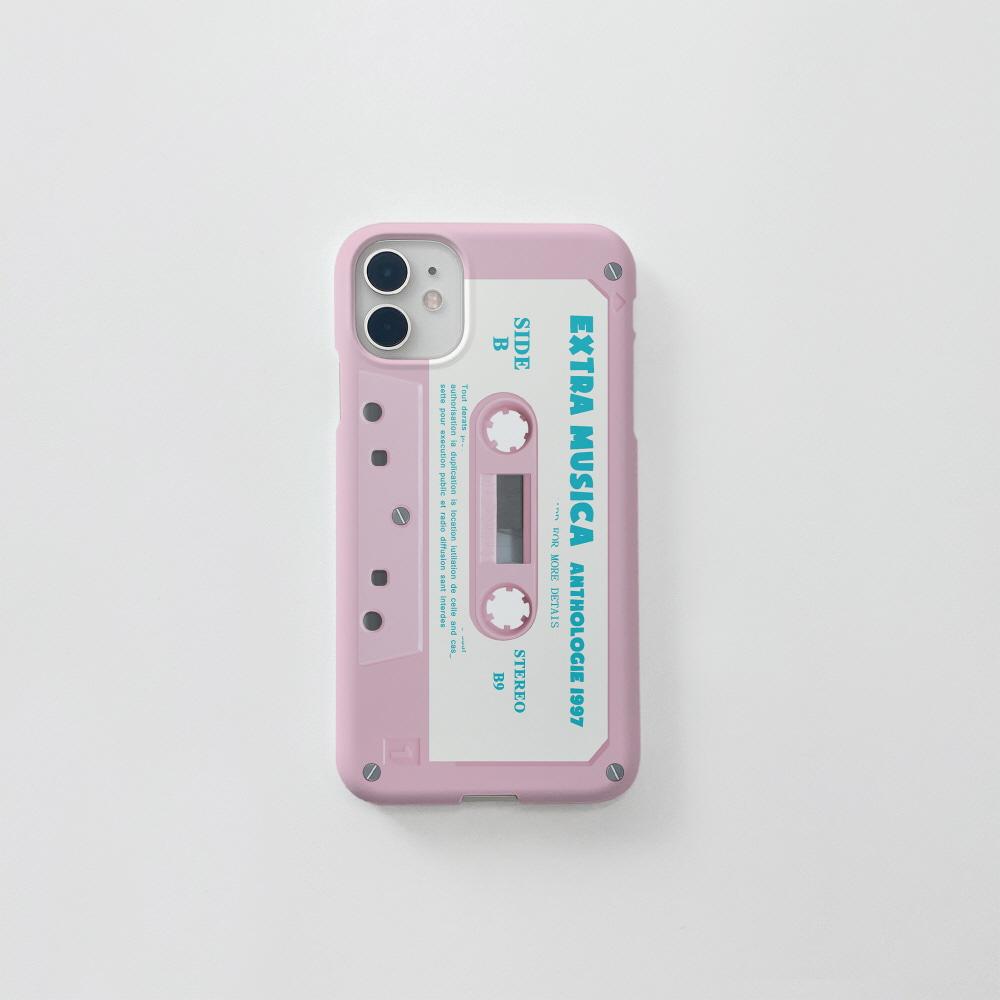 (무광) 핑크 카세트