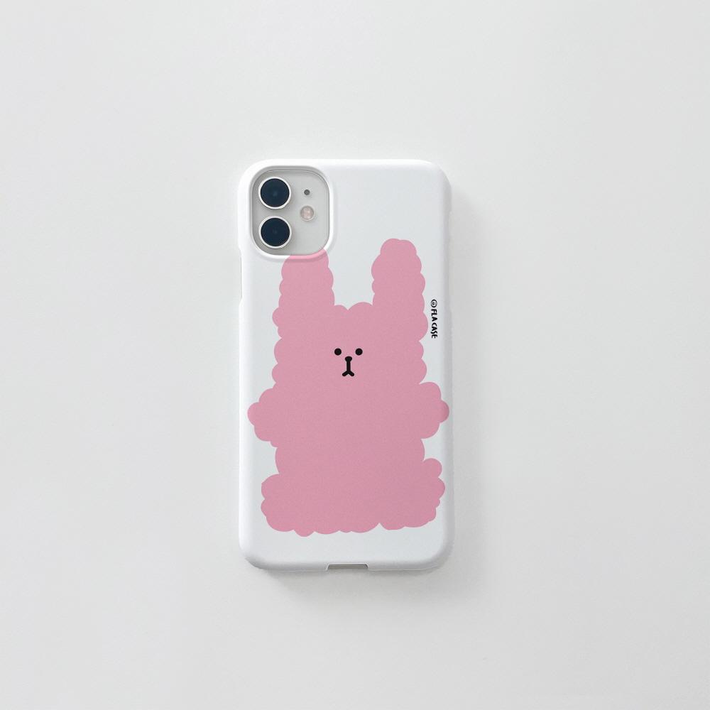 복실 토끼-핑크