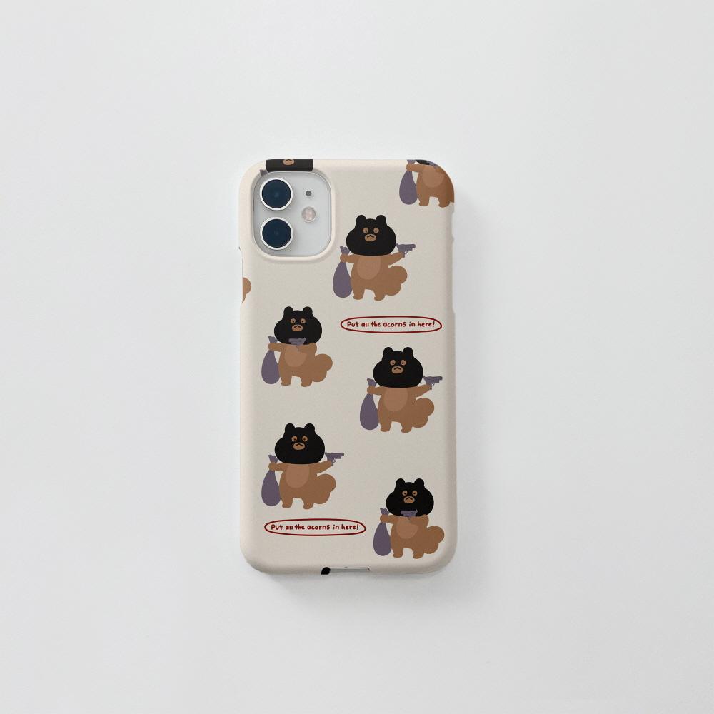 수배자다람쥐 패턴 베이지