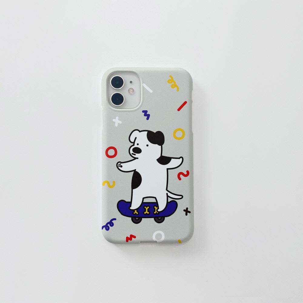(무광) 갱쥐 보드 패턴 . 아이폰 11 12 XS X 프로 맥스 갤럭시 노트20 S20 21 10 핸드폰 케이스