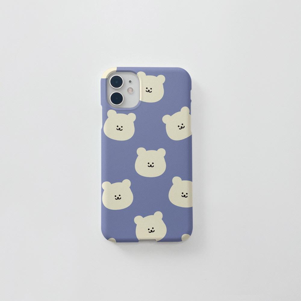 곰찌 패턴 블루