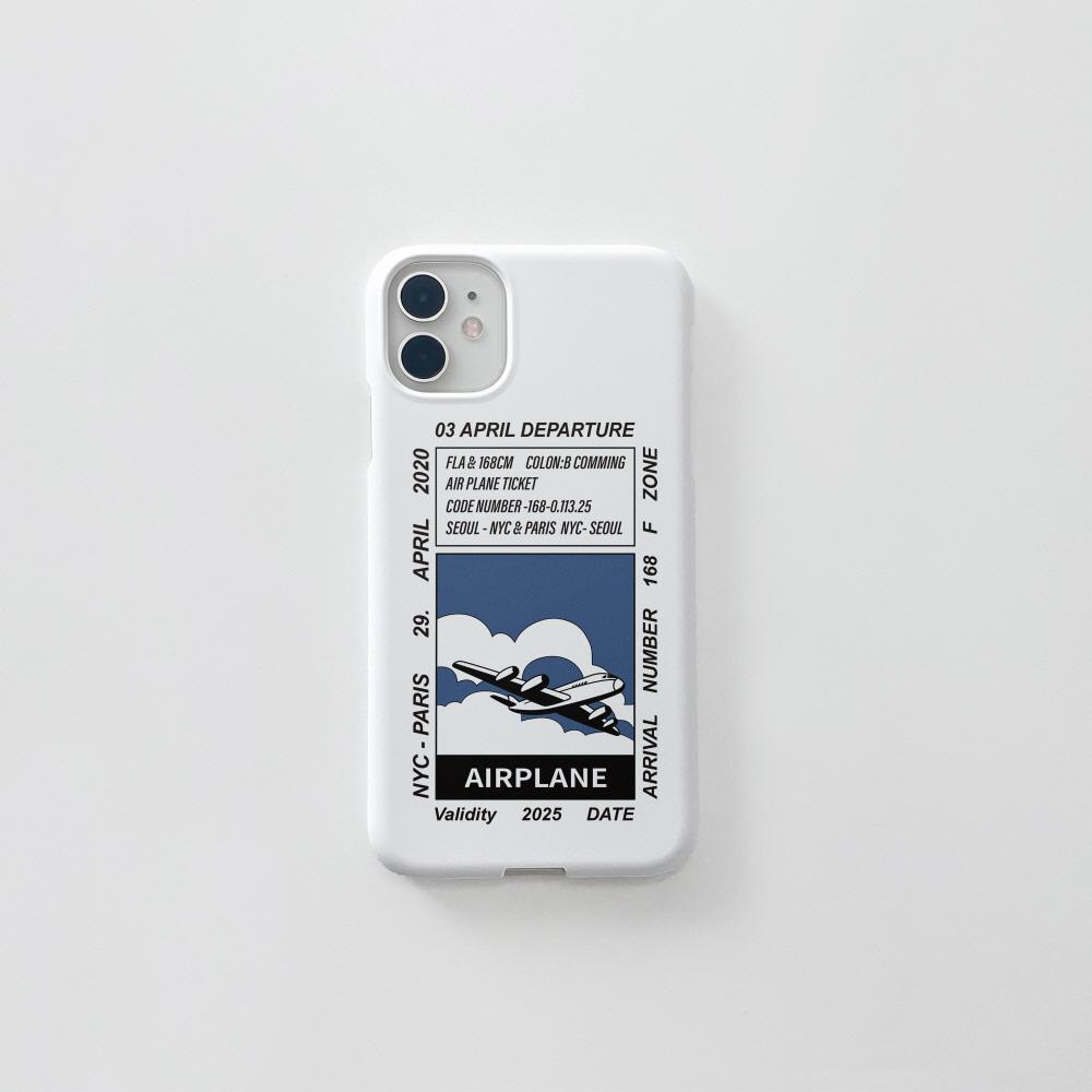 에어플레인 티켓 블루