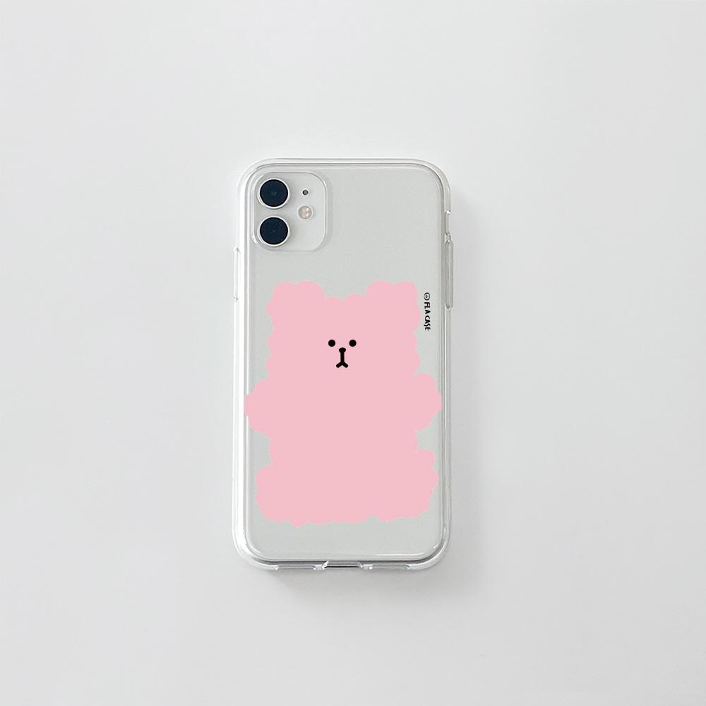 (젤리) 복실 곰댕이-핑크