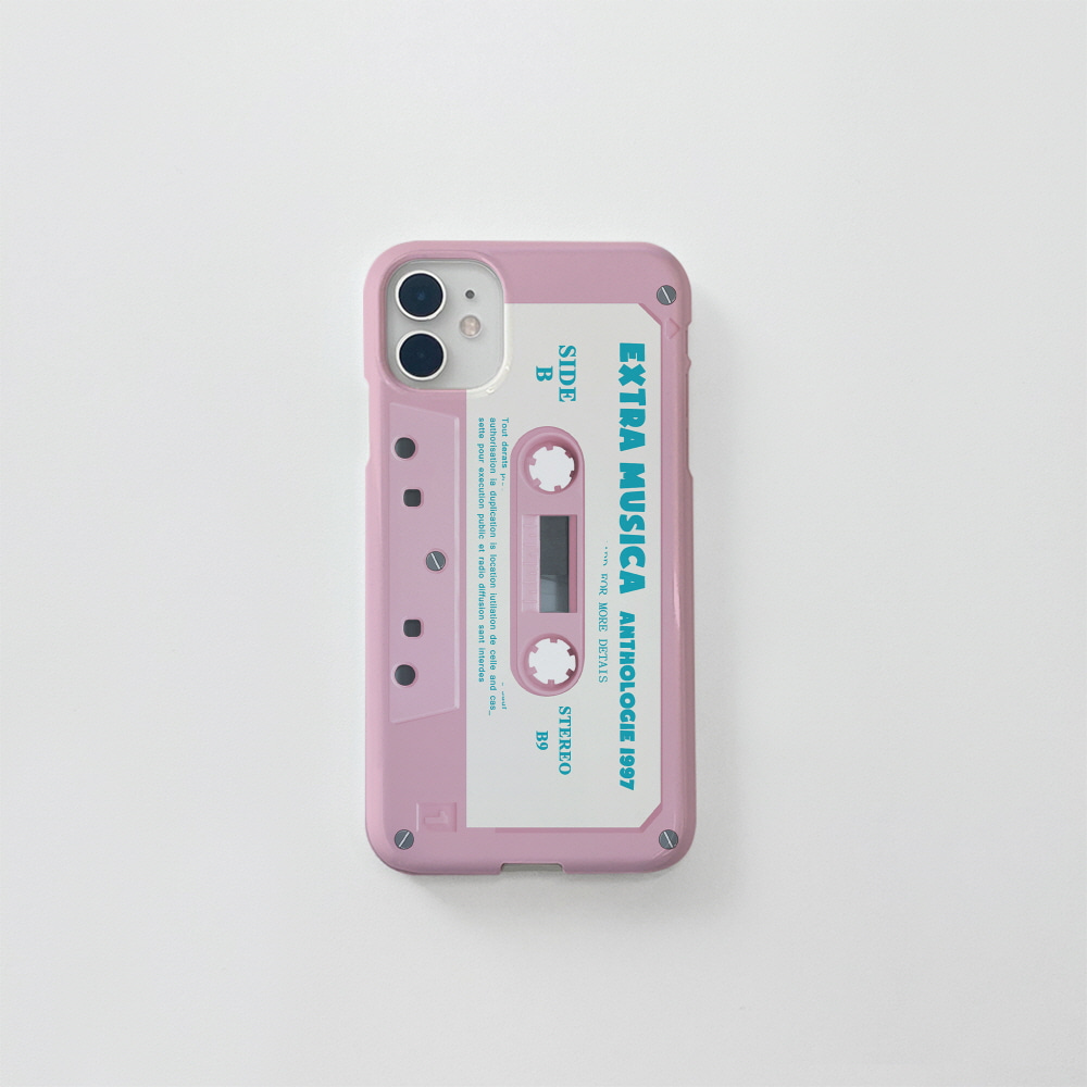 (골드펄) 핑크 카세트