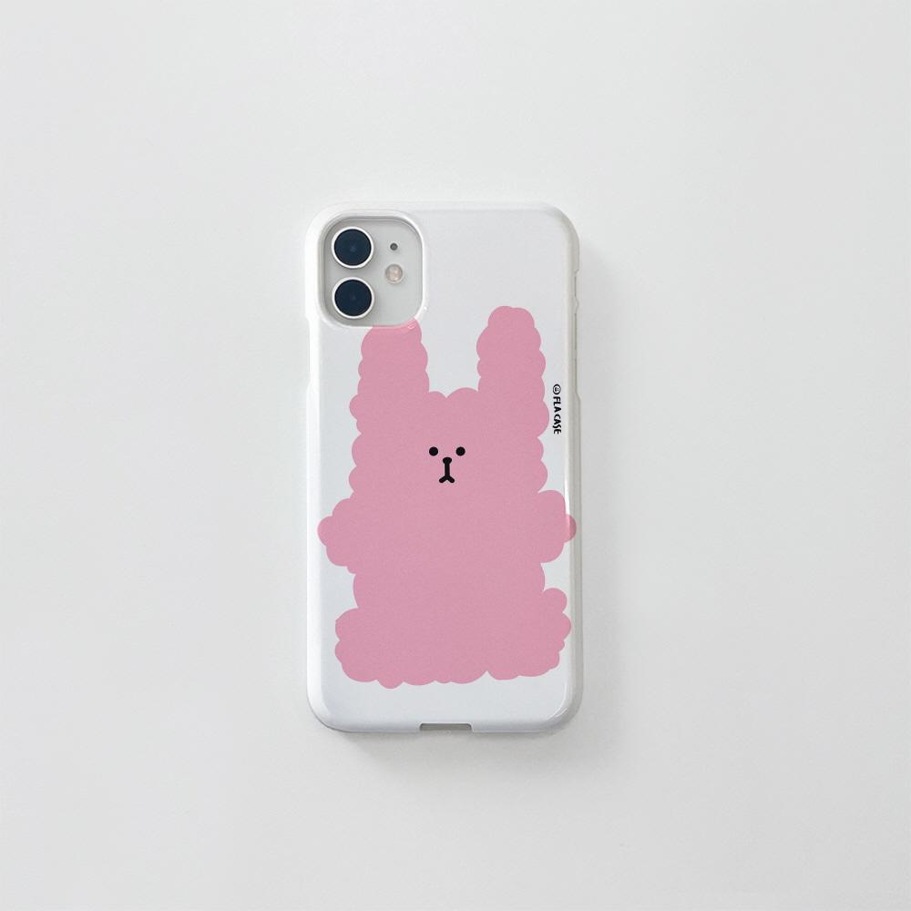 (골드펄) 복실 토끼-핑크