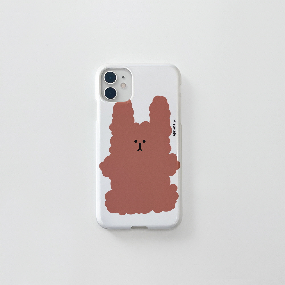 (골드펄) 복실 토끼-브라운