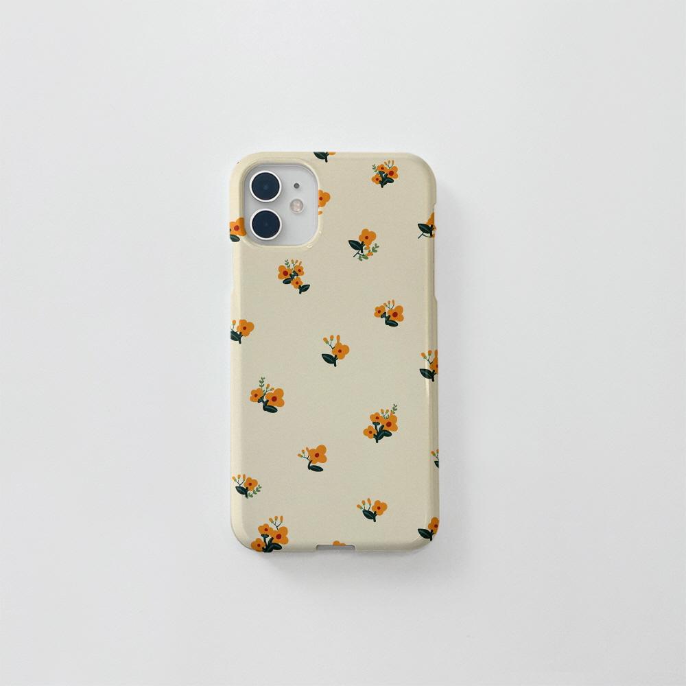 (골드펄) 유채꽃 패턴 베이지
