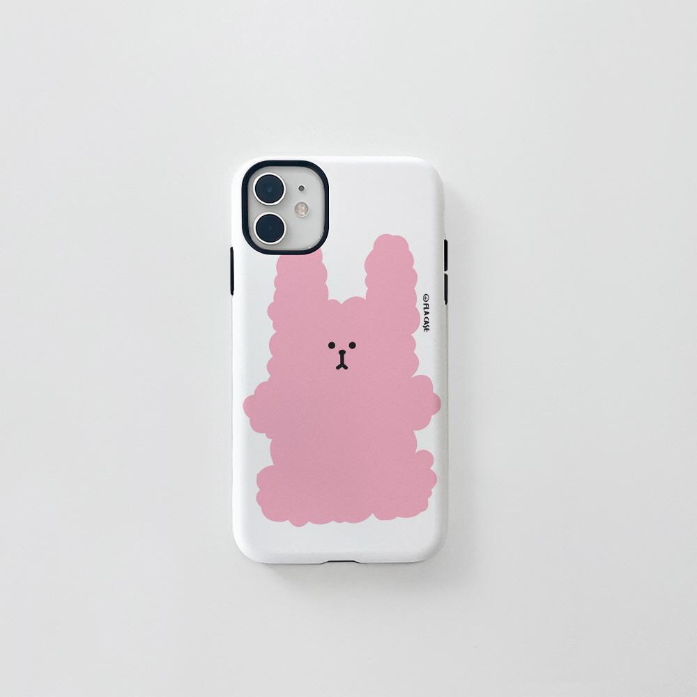(터프) 복실 토끼-핑크