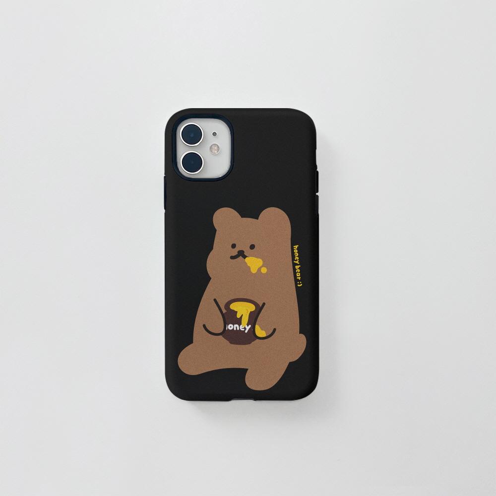 (터프) 꿀먹는곰 블랙